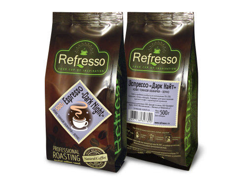 Кофе Refresso Эспрессо Дарк Найт