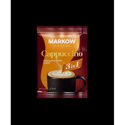 "Markow кофе 3в1 ""Cappuccino"" 1 уп. (20шт*25гр)"