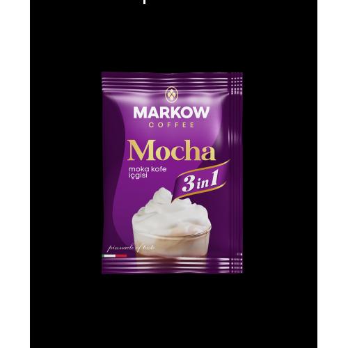 "Markow кофе 3в1 ""Mocha"" 1 уп. (25шт*20гр)"