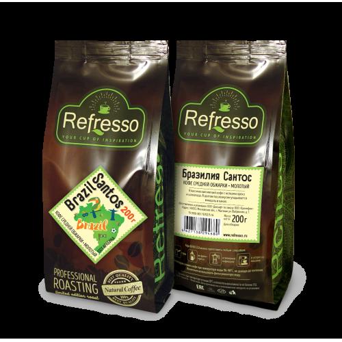 Кофе Refresso Бразилия Сантос
