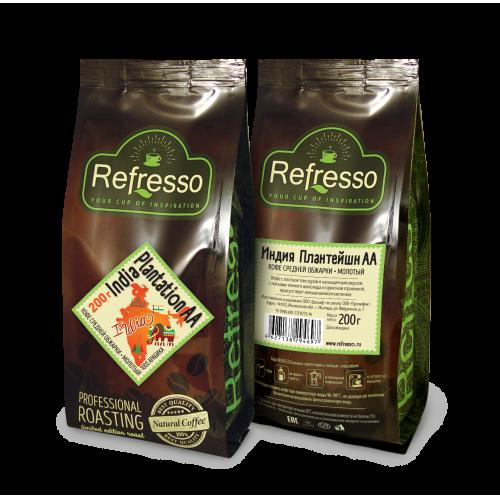 Кофе Refresso Индия Плантейшн АА